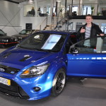 Ford Focus RS Indianapolis Blau Metallic